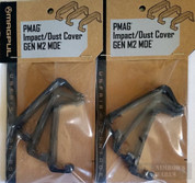 TWO MAGPUL PMAG EMAG Impact / Dustcovers 3pk X 2 MAG216-BLK