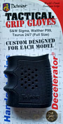 Pachmayr 05166 Tactical Grip Glove/Decelerator for S&W Sigma