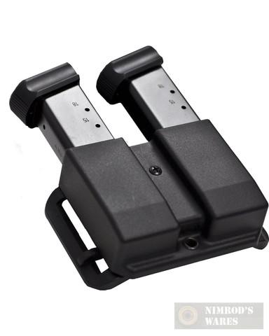 Blade-Tech Glock 9mm .40SW REVOLUTION Double Magazine Pouch ASR