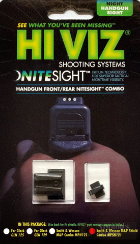 HiViz NITESIGHT™ Set for S&W Smith and Wesson M&P SHIELD 9mm .40SW MPSN121