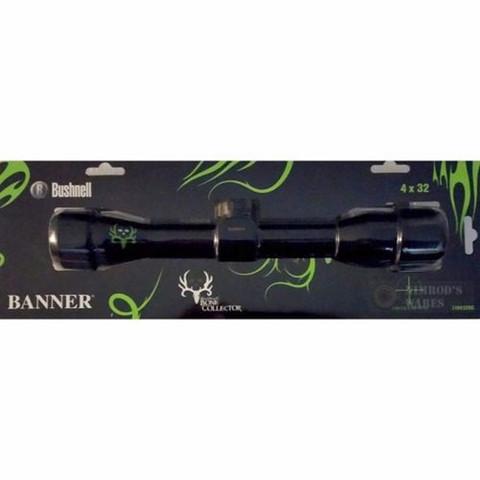 BUSHNELL Banner Bone Collector Rifle Scope 4x32 Circle-X 710432BC