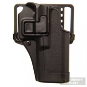 BLACKHAWK Serpa CQC HOLSTER Glock 20 21 37 S&W M&P 9mm .40 .45 RH 410513BK-R