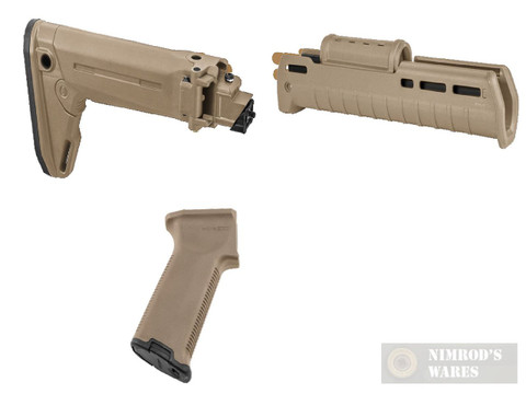 MAGPUL AK Zhukov Impingement KIT FDE: Stock / Hand Guard / Pistol Grip