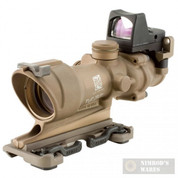 Trijicon ACOG 4x32 Scope + 3.25 MOA RMR Sight .223 TA01ECOS