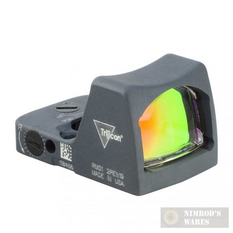 Trijicon LED RMR Sight 6.5 MOA Red Dot Sniper Gray RM02-C-700121