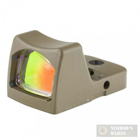 Trijicon LED RMR Sight 6.5 MOA Red Dot FDE RM02-C-700123
