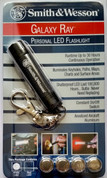Smith & Wesson S&W Galaxy Ray LED Keychain Flashlight SW015WT