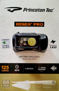 Princeton Tec Remix Pro 125 Lumen 4 Mode LED HEADLAMP HYBL123-GR-BK