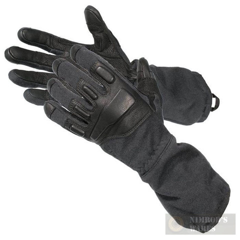 BLACKHAWK FURY Gloves w/ KEVLAR Flash / Flame Protection 8093LG-BK