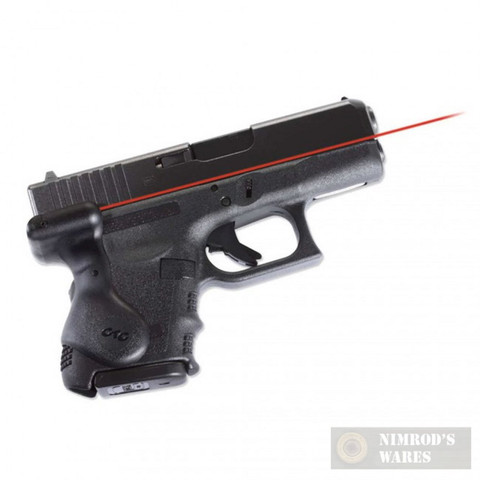 Crimson Trace LG-626 LASERGRIP Glock Gen3 26 27 28 33 39
