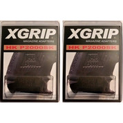 2-PACK X-Grip Use HK P2000 Hi-Cap Magazine in P2000SK HK2000