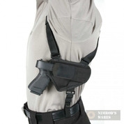 "BLACKHAWK Horizontal Shoulder Holster Med/Lg Pistol 3.25-3.75"" Barrel 40HS16BKLG"