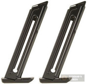 2-PACK RUGER Mark III Mark 3 MKIII 22/45 22LR 10 Round Magazines 90229