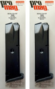 2-PACK ProMag Beretta 92F M9 9mm 10 Round Magazines BER01