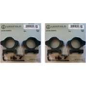 "2-PACK LEUPOLD Rifleman Detachable Aluminum 1"" Medium Scope Rings 55860"