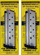Chip McCormick 1911 XP 9mm 10 Round Magazines SS 19003 2-PACK