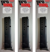 3-PACK ProMag Ruger LCP 380ACP 10 Round Magazines RUG14 RUG 14