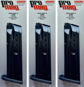 ProMag S&W Smith & Wesson M&P 9mm 10 Round Magazine 3-PACK SMI23