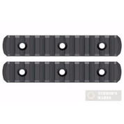 MAGPUL M-LOK Polymer Rail Section 11 Slots 2-PACK MAG593-BLK