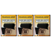 3-PACK Pearce Grip Gen4 Glock 26 27 33 39 Grip Extensions+ ADD CAPACITY to MAGAZINE PG-G42733