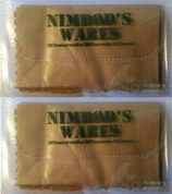 "NIMROD'S WARES Multi-Purpose Microfiber Cleaning Cloth 6""x6"" 2-PACK"