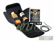 Hoppe's 34010 Rifle Cleaning Kit .17 HMR Boresnake+Solvent+Oil/Cloth
