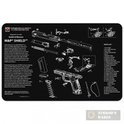 "TekMat S&W M&P Shield Armorer Bench MAT 11""x17"" 17-MP-SHIELD"