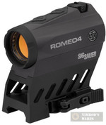 Sig Sauer ROMEO4B 1X20mm Red Dot Sight 2MOA/65MOA SOR41101