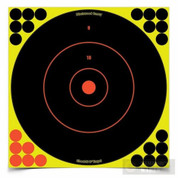 """Birchwood 34022 Shoot-N-C 12"""" TARGET X 12Pk w/ 288 Pasters"""