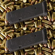 MAGPUL PMAG 15 GL9 Glock Compact / Sub-Compact 9mm 15-Round Magazine 2-PACK MAG550-BLK