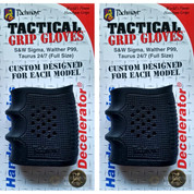 Pachmayr 05166 Tactical Grip Glove/Decelerator 2-PACK for S&W Sigma, Walther P99, Taurus 24/7