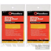 Kleen-Bore Silicone GUN & REEL CLOTH 2-PACK 100 sq.in.! GC220