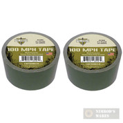 Tac Shield 100MPH Heavy Duty Tactical TAPE 10yds OD Green 03986 2-PACK