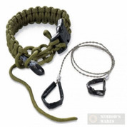 Columbia River Para-Saw Survival Bracelet OD Green LARGE 9300DL