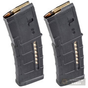 MAGPUL PMAG 30 AR/M4 Gen M3 WINDOW 30 Round 5.56X45mm MAGAZINE MAG556-BLK 2-PACK