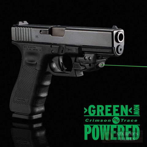 CRIMSON TRACE Rail Master GREEN Laser SIGHT Universal CMR-206