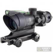 TRIJICON ACOG 4x32 SIGHT/SCOPE Green Chevron + MOUNT TA31F-G