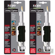Zippo Outdoor Utility Lighter 2-PACK Chrome/Blk 121399