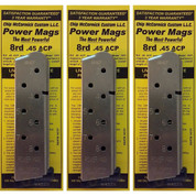 Chip McCormick 14131 Power Mags™ 45ACP 8rd SS Magazine