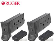 RUGER LCP II .380 ACP 6 Round MAGAZINE 2-PACK 90621