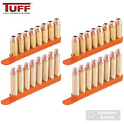 TUFF QuickStrips 8-Rd .357 .38 .40SW 6.8mm 4Pk Reloader 7002OR8357