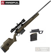 MAGPUL HUNTER 700L Remington 700 Long Action STOCK + Magazine Well + Magazine MAG483-ODG MAG489-BLK