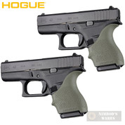 HOGUE GLOCK 42 43 G42 G43 + MORE! GRIP SLEEVE 2-PACK OD Green 18201