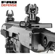 FAB Defense Front / Rear SIGHTS SET .223 Picatinny FRBS