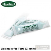 FrogLube GUN CLP 5ml Paste 2-PACK NON-TOXIC Mint Smell FP5ML