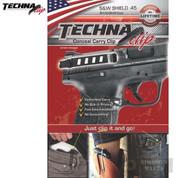 Techna Smith & Wesson SHIELD .45ACP CLIP IWB EDC AMBI SH45BA - Add to cart for sale price!