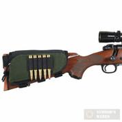 Allen 20550 Rifle Buttstock Cartridge Holder w/ Zippered Pouch