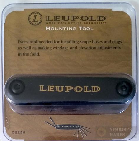 Leupold Scope & Rings Mounting/Adjusting Tool (8-in-1!) 52296