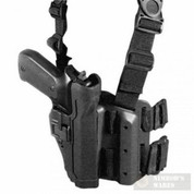 BlackHawk 430500BK-R Level2 SERPA Tactical Holster RIGHT Glock 17-23/31/32