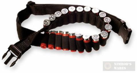 BULLDOG Adjustable Shotgun Ammo BELT 20 SHELLS/Cartridges WABS